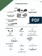 Símbolos para mapas geológicos