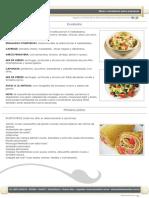 Ejemplo de Menú Para Comedores de Empresas - Eis