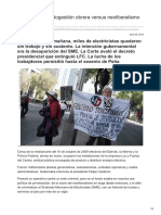 Resistencia y Autogestión Obrera Versus Neoliberalismo en México