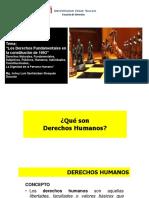 Derecho Constitucional Peruano Clase 2 Los Derechos Fundamentales en La Constitucion