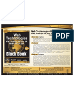 Web Technologies Black Book