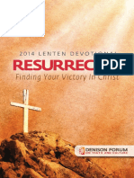 Lent Devotional 2014