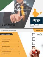E Commerce Report Sep 2018