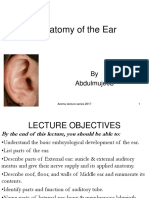 15.the Anatomy of the Ear 2017 New