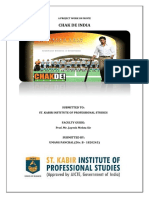 Chak de India Management Perspective Project