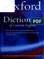 The Oxford American Dictionary of Current English - Frank R. Abate (1999)