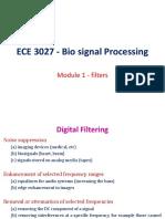 FALLSEM2018-19 ECE3027 ETH TT308 VL2018191003186 Reference Material I Module I - Filters