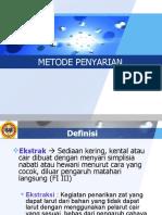 Metode Penyarian