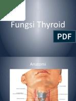Fungsi Thyroid