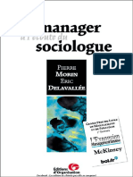 Pierre Morin_Eric Delavallée-Le manager à lécoute du sociologue