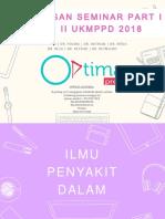 [Optima] Pembahasan Seminar Pt. 1 Batch 2 2018