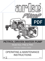 Clark Petrol Pump Pw2-3