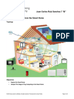 4.1.1.6 Packet Tracer - Explore the Smart Home-converted