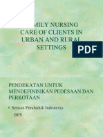 PPT Family Nursing Care in Rural and Urban Setting