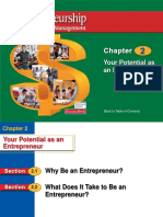 Chapter 2 Your Potential as an Entrepreneur