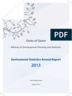 Env Environmental Statistic Report en 2013