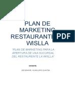 Plan de Marketing Hamburguesas Vilma