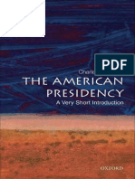 (Very short introductions 165 Presidency 1) Jones, Charles O-The American presidency _ a very short introduction-Oxford University Press (2007).pdf