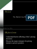 Marketing mix - PRICE.ppt