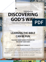 Discovering God's Way Promotional Flyer