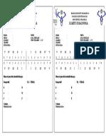 Kartu Diagnosis DMFT