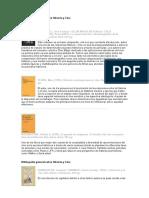 Bibliografía General Sobre Historia y Cine