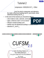 2b_cufsm Tutorial 2