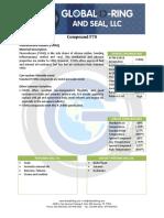 Fluoro slicone data sheet