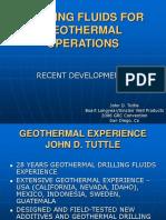 Geothermal Drilling Fluid Presentation
