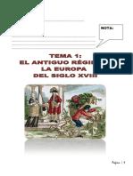 Tema 1 La Crisis Del Antiguo Rc3a9gimen