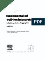 O. Serra_ the Interpretation of Logging Data_1986