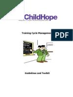 Childhope Training Cycle