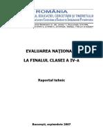 RAP_EVALUARE NATIONALA FINAL CLS A IV-A_2007.pdf