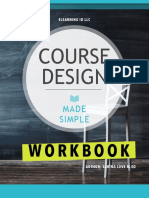 Course Design Workbook Vsm