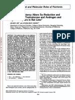 Zinc Deficiency5-Alpha Reductase and Androgen Receptors