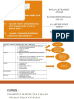 Course Proforma Learning and Anlysis