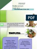 1. Prinsip Pembuatan Simplisia (3 Files Merged)
