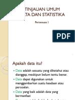 Pertemuan Statistik 1