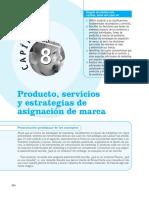 producto, servicios y estrategias de asignacion