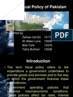 Lecture 11 Fiscal Policy