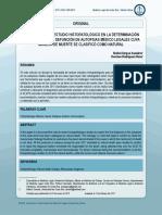 Importancia Del Estudio Histopatologico en La Determiancion de Las Causas de Defuncion de Autopsias Medico Legales Cuya Manera de Muerte Se Clasifico Como Natural