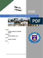 Lugares Turísticos de La Provincia de Sullana y Sus Distritos Aledaños