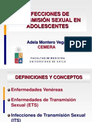 enfermedades de transmision sexual concepto