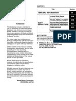 Mazda3 Bodyshop Manual 2004-2009