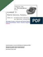 Simulado IV - PCF Área 6 - PF - CESPE