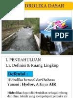Materi Hidrolika Per.ii