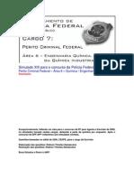 Simulado XIII - PCF Área 6 - PF - CESPE