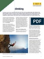 Rock Climbing Molibdeno