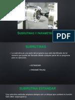 Subrutinas y Parametricas CNC