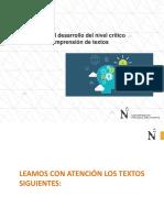 PPT 12 - Estrategias Para El Desarrollo Del Nivel Crítico Valorativo (1)